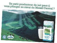 L'argument local revient en force dans les marques alimentaires, à l'image du dernier produit de Candia.