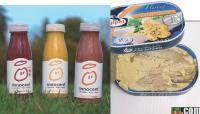 Le site Pundo3000.com répertorie des produits alimentaires, dont l'image appétissante du packaging n'a rien à voir avec le produit une fois dans l'assiette. A l'inverse, innocent mise sur la naturalité de ses produits.