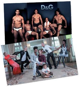En publicité, il s'agit de sortir des clichés, notamment vis-à-vis des homosexuels.
