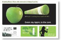 Pour forcer Apple à prendre en compte l'impact de ses produits sur l'environnement, Greenpeace a organisé une campagne «greenmy-apple», en mobilisant les fans de la marque. Avec succès.