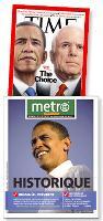 Obama est devenu le symbole du mélange des peuples , des origines et du changement. Un homme qui ressemble au monde tel qu'ils se dessine aujourd'hui.