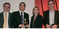 Philippe Jourdan et Emmanuel Malard (Panel On The Web),Marie-Estelle Carrasco (Microsoft Advertising), Philippe Legendre (Irep).