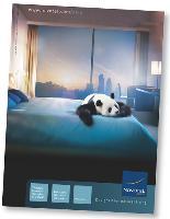 En 2007, la campagne «Novotel, designed for natural living» a été tellement forte que la marque capitalise encore aujourd'hui dessus.