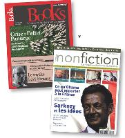Books est un mensuel et devrait coûter 6 Euros. nonfiction, version I papier du site web éponyme, est quant à lui un trimestriel vendu à 4,90 Euros.