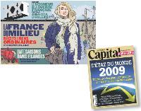 Dans son dernier numéro, donne la parole à la «France du milieu». Capital dresse, quant à lui, un bilan de l'état du monde dans un hors-série.