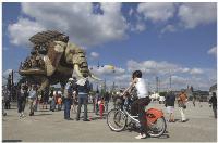 La folie créatrice que vend nantes à travers ses campagnes s'incarne notamment dans un projet artistique, baptisé Les Machines de l'Ile, attraction phare de la métropole.