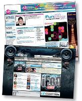 L'aspect convivial et communautaire est très soigné sur les sites de radios jeunes.