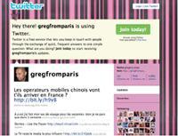 grégory Pouy présente sa page personnelle sur twitter: http://twitter.com/gregfromparis