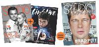Le premier numéro de Studio Ciné Live a été tiré à 200 000 exemplaires (dont 150 000 en grand format).