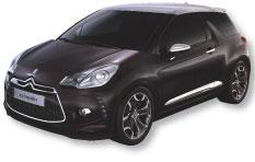 La DS3 sera le premier véhicule lancé sous la ligne DS. Citroën entend ainsi proposer une offre plus haut de gamme.