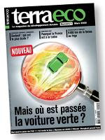 Terra eco est entièrement éco-conçu et imprimé sur papier recyclé.