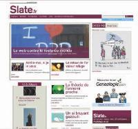 36 heures après sa mise en ligne Slate.fr comptait 50 000 visiteurs uniques et 200 000 pages vues.