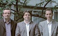 Olivier Auliard, Gérard Dahan et Luc Coiffier (de gauche à droite), à la tête d'un «nouvel» Asterop.