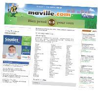 Créé par Ouest France et six autres groupes de PQR, Maville.com réunit des petites annonces, des actualités et des idées de sortie dans plus de 70 villes.