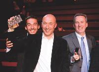 Christian BRABANT (Eco-systèmes), Régis LEFEBVRE et Nicolas GOBERT (Young & Rubicam).