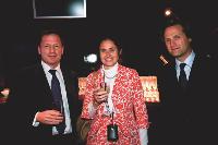 Philippe TOULEMONDE (Ouest-France), Véronique POIRIER (Eco-systèmes) et Stéphane DELAPORTE (Quotidiens Associés).