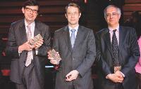 Jean-Yves RINCE (Publicis Consultants), Jean-Denis COMBREXELLE et Laurent SETTON (Dicom - Ministère du Travail).