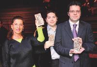 Brigitte TISSIER (Havas Media), Damien MICHAUDET (Sopexa) et Didier DELZESCAUX (Inaporc).