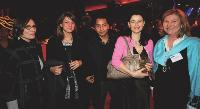 Sophie DUVAL (Société Générale), Lauranne HILLENWECK et Yvan DUCKIT (Ferrero France), Nadia CANCADE (KR Média) et Carine DEVOS (Com > Quotidiens).