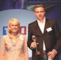 Martine Hollinger (TF1 Publicité) et Philippe Cantet (Innocent France).