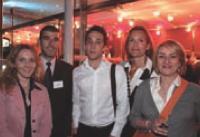 Béatrice Poumerie, Patrick Russo, Massimo Piredda, Géraldine Beaufils et Catherine Spencer (LaSer).