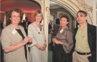 Dominique Servant et Catherine Bougeois (Adetem), Emilie Portes (HMC Hotels) et François Laurent (Adetem).