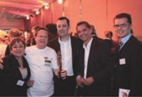 Fanny Barbaray, Christian Barbaray (Init), Thierry Spencer (Sens du client), Eric Lepleux et Charles Richet (Philips).