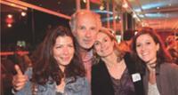 Anne-Sophie Terakopiantz (Layline), Hervé Saramito (HSA Conseil), Karine Travers et Johanne Averdy (Layline).
