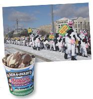 La marque de glaces Ben & Jerry's utilise ses packs pour faire passer des messages engagés.