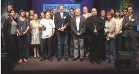 Les lauréats des Trophées Marketing 2009 et les trois Hommes Marketing de l'Année.