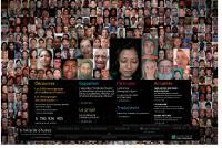 Le projet «6 milliards d'autres» initié par Yann Arthus-Bertrand présente le témoignage de plus de 5000 personnes de 75 pays. Il montre la diversité humaine et culturelle du monde.