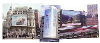Du Printemps Haussmann au périphérique parisien, Athem s'est spécialisée dans l'affichage très grand format.