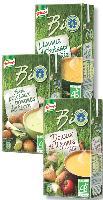 Knorr se positionne sur le marché du bio et a lancé trois nouvelles soupes à la fin de l'été.