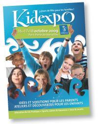 Le salon Kidexpo, dont l'édition 200g s'est déroulée en octobre dernier, propose aux familles de «faire le plein d'idées dans les domaines de l'éducation, du sport, des loisirs ou encore des vacances».