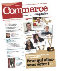 «Gérard Collard, le libraire «vu à la télé»», Commerce Magazine, n° 104, septembre 2009.