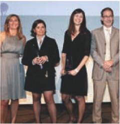 Nathalie Perrio-Combeaux (Harris interactive), Anne Dedanne (Fondation Wyeth), Laurence Bertea-Granet (Harris interactive), Philippe Legendre (Irep).