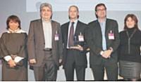 Sylvie Richard, Reza Eftekhari (Schneider), Olivier Savinelli, Patrick van Bloeme (Harris interactive), Pascale Zobec (La Française des Jeux/ Esomar).