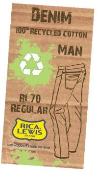 Au printemps, Rica Lewis lancera un jean en coton recyclé, conçu à partir de chutes de tissu.