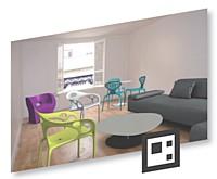Il est désormais possible de visualiser des objets ou des meubles dans son intérieur avant de les acheter.