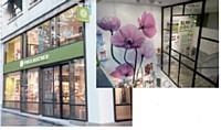 Le nouveau concept de boutiques d'Yves rocher met en avant la naturalité des produits.