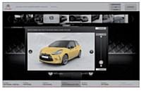 Chez Citroën, des écrans permettent au vendeur et au consommateur de construire ensemble le modèle de DS3 idéal.