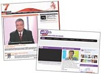 Des sites avec vidéos pour refléter les identités locales.