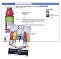 Les internautes ont choisi le nouveau parfum de Vitaminwater via Facebook.