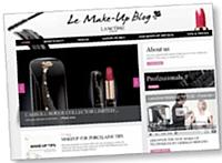 Lancôme se met à la disposition de son public européen avec le Make-Up Blog.