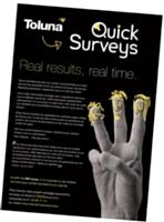 La solution de sondages à la demande QuickSurveys de Toluna offre une grande souplesse aux entreprises.