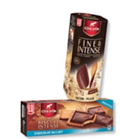 La nouvelle gamme Côte d'Or de Lu compte deux biscuits déclinés en trois et quatre parfums.