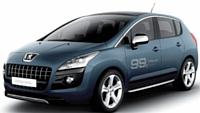 Peugeot Hybrid 4. en vente au printemps 2011, (c'est le premier crossover hybride au monde qui a recours au diesel.