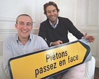 Frédéric Lambert et Vincent Quenor (Passage Piéton): « Nous nous sommes autoproclamés créateur d'émotions. »