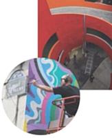 «Walls are dancing» à Paris: l'artiste Matt W. Moore présente une perfomance en public.