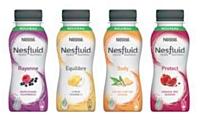 Le logo Nesfluid évoque les notions de fluidité, de légèreté et de dynamisme.